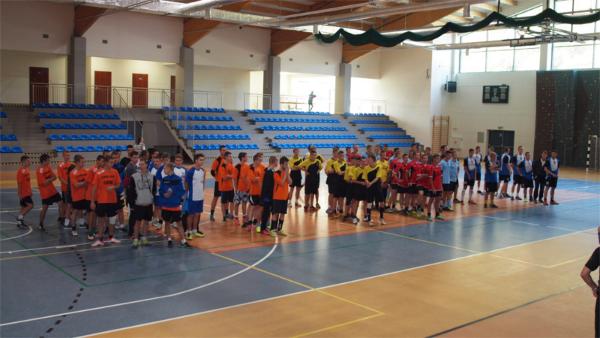 Mistrzostwa Powiatu (...) w halowej piłce nożnej chłopców 2014
